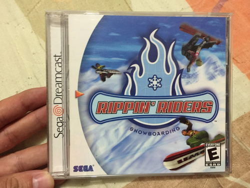 rippin riders snowboarding.  dreamcast
