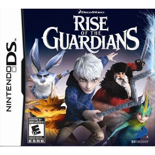 rise of the guardians - nintendo ds