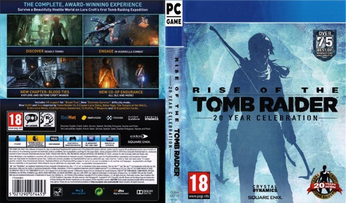 rise of the tomb raider 20 years celebration pc - steam key