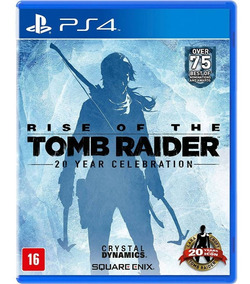 Rise Of The Tomb Raider - Ps4 Midia Física