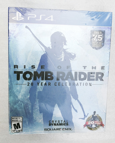 rise of the tomb raider (limited artbook edition) ps4 nuevo