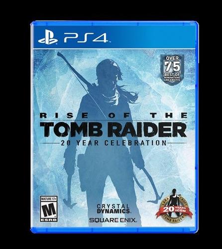 rise of the tomb raider ps4, disco, nuevo y sellado