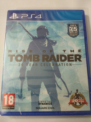 rise of the tomb raider ps4 nuevo sellado envio gratis