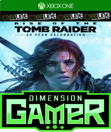rise of the tomb raider - xbox one - no codigo off-line
