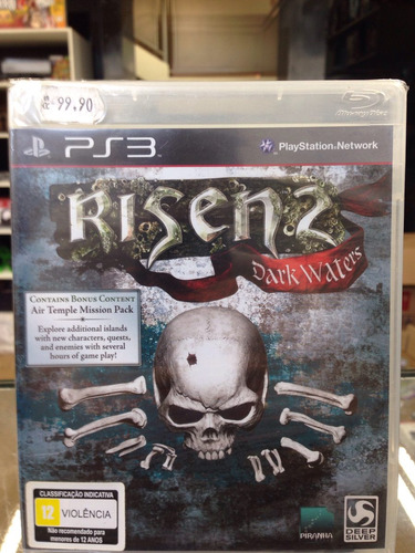 risen 2 dark waters ps3 lacrado !!