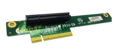 riser card pcie express supermicro rr1u-e8