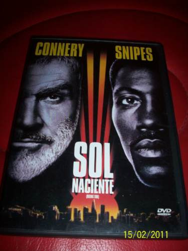 rising sun sol naciente sean connery wesley snipes dvd 1993