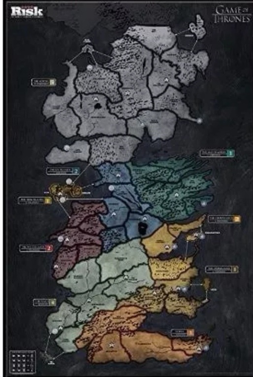Risk Game Of Thrones Deluxe 2 Mapas Remate Envío Dhl