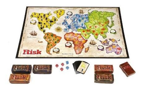 risk hasbro el juego estratégico de conquista b7404