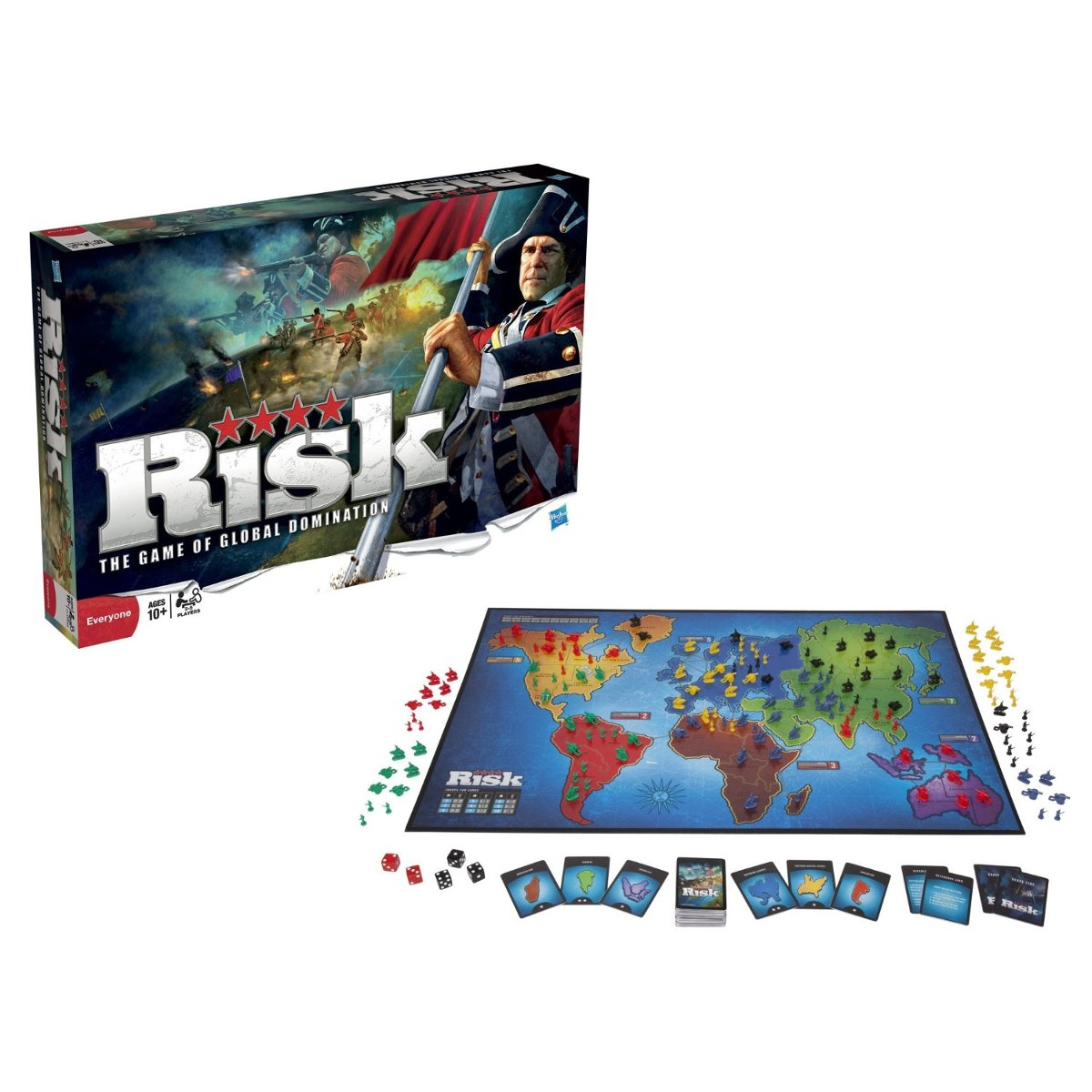 Risk Juego De Mesa 225 100 En Mercado Libre