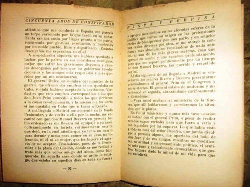 rispa perpiñá,francisco-cincuenta años de conspirador