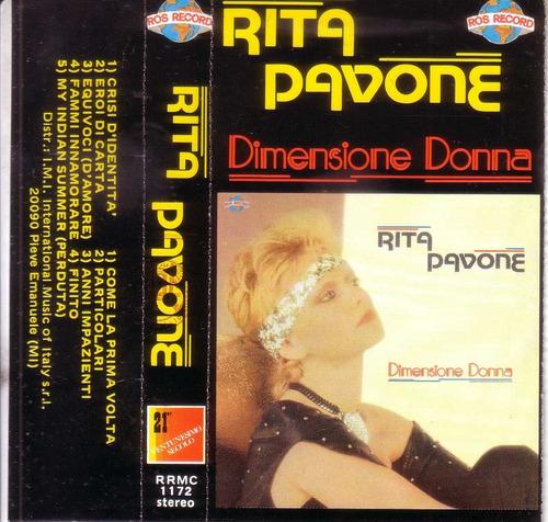 rita pavone dimensionne donna cassette nunca en cd pvl