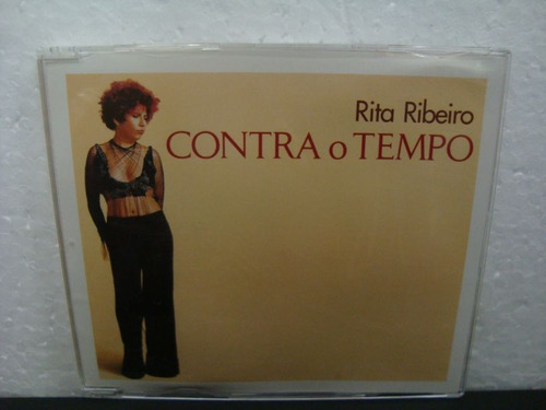 rita ribeiro - contra o tempo - cd single nacional