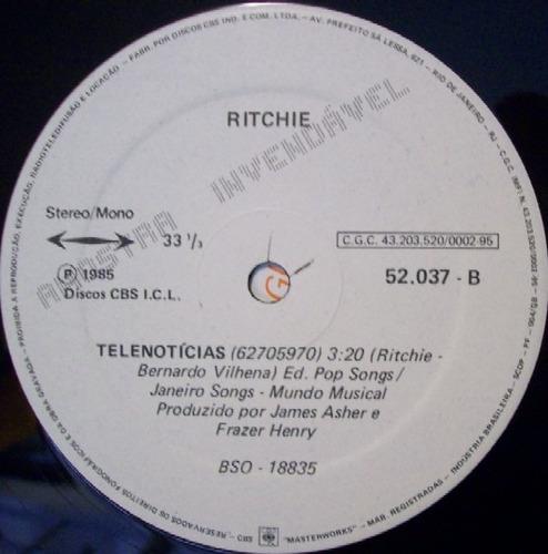 ritchie    12 promo single   telenoticias