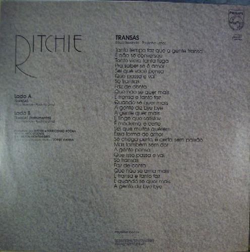 ritchie   12 promo single   transas