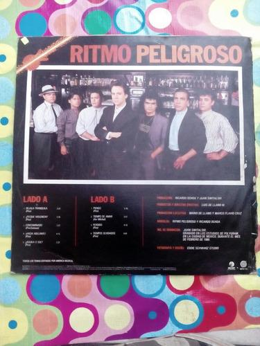 ritmo peligroso lp1988  dejala tranquila rock en español