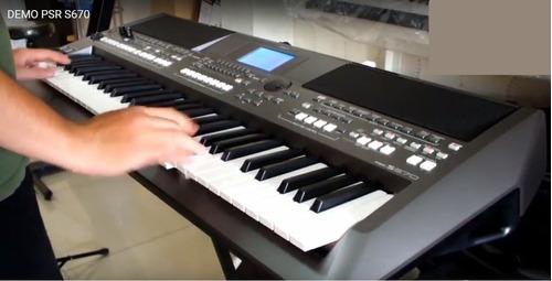 ritmos e samples para teclado yamaha psr s670 - connexxus v3