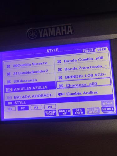 ritmos para teclados yamaha psr s,e