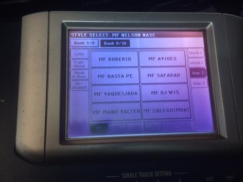 ritmos teclado korg pa500