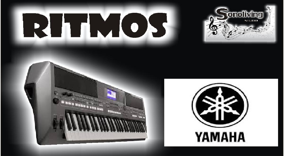 ritmos sty yamaha