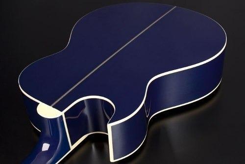 ritmus : eagle gl36 : violão aço cutway eletrico blue burst