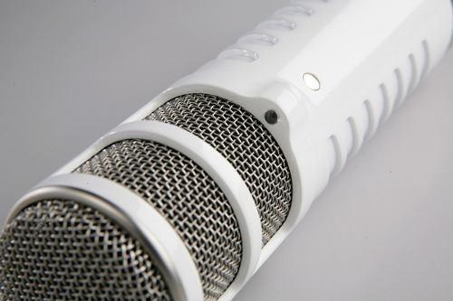 ritmus ! rode podcaster : microfone usb de alta qualidade
