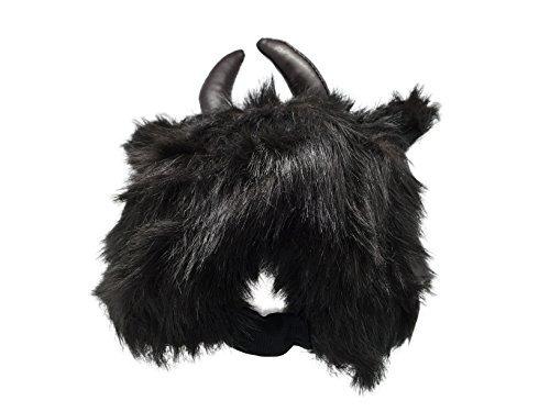rittle peludo del búfalo (bisonte) sombrero animal, realist