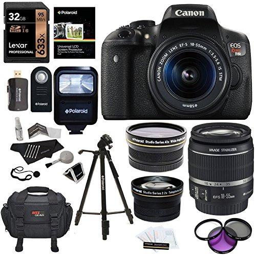 ritz camera canon eos rebel t6i 24.2 mp digital slr cámara