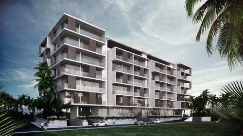 riva, desarrollo de lujo en puerto cancun, depto de 2 recamaras