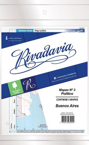 rivadavia 8866 mapas n°3 político buenos aires x5