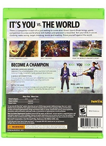rivals kinect sports - xbox one