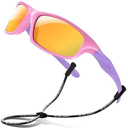 ecea4517b2 Rivbos Goma Gafas De Sol Polarizadas Para Ninos Con Gafas Ga ...