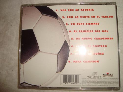 river banda descontrolada otra vez campeones  audio cd