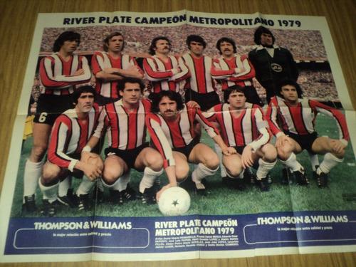 river campeon !!  metro 79 / el grafico