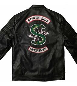 llegando garantía de alta calidad zapatos de temperamento Riverdale Chamarra Serpents Jughead Vinipiel Hombre South S