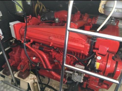 riviera 42 crucero motor fly bridge 2 motores iveco diesel