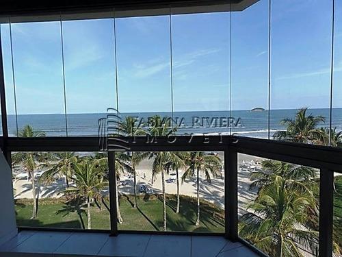 riviera: duplex frontal ao mar, 3 suítes