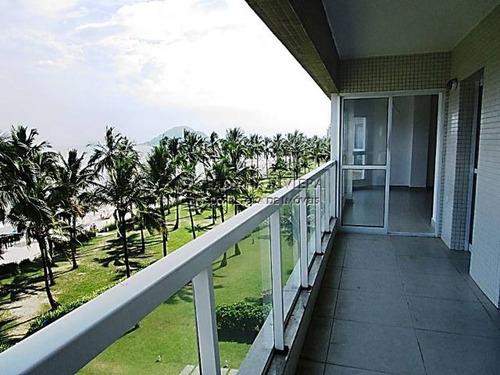 riviera - frontal ao mar - 148 m² - 3 dormitórios + reversível