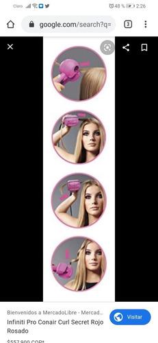 rizador de cabello conair fashion curl