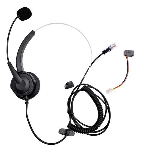 rj11 manos libres centro de llamadas teléfono con cable