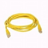 rj45 amarillos cable utp 1.90 mts ethernet patch cord