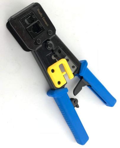 rj45 profesional heavy duty crimp tool conector ethernet cri