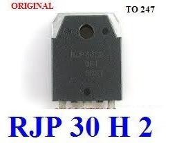 rjp30h2 - rjp 30h2 - rjp 30 h 2 - transistor original !!!