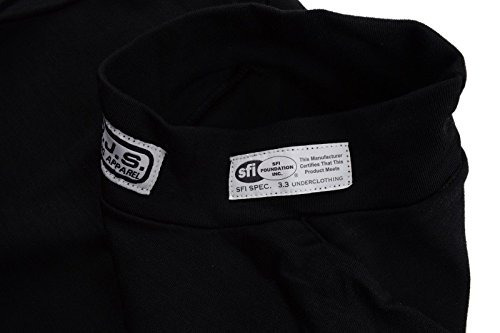 rjs racing equipment sfi 3.3 fr underwear top size medium bl