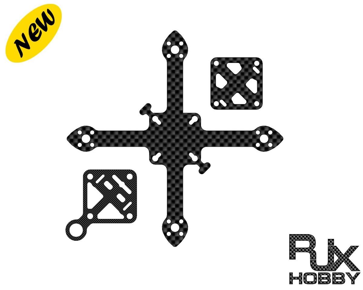 Rjxhobby 95mm Fibra De Carbono Quadcopter Kit De Marco Pa ...