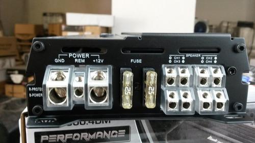 rksp800.4dm, ingeniería y diseño americano clase d 4 canales