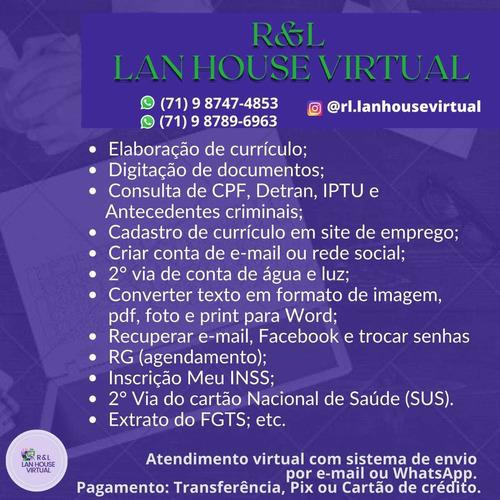r&l lan house virtual