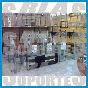 rla-soportes lcd led angulo + mov lat 32 pulgadas importados