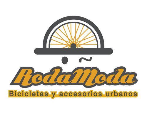 rm canastilla de mimbre para bicicleta desmontable