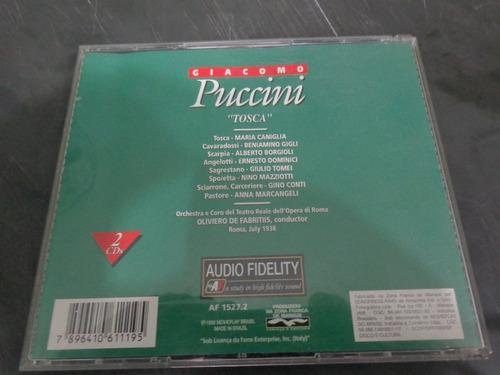 r/m - cd duplo - giacomo puccini - tosca